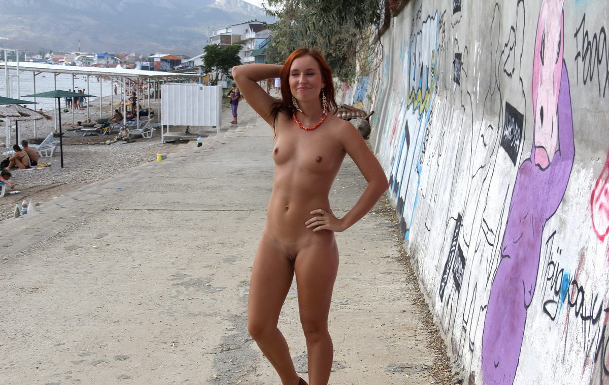 girls at nudist resort