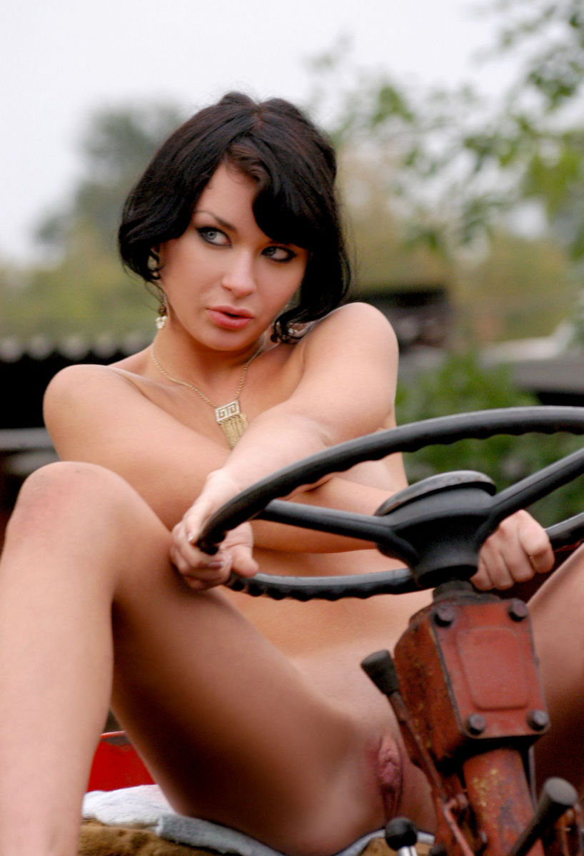 naked girls and tractors