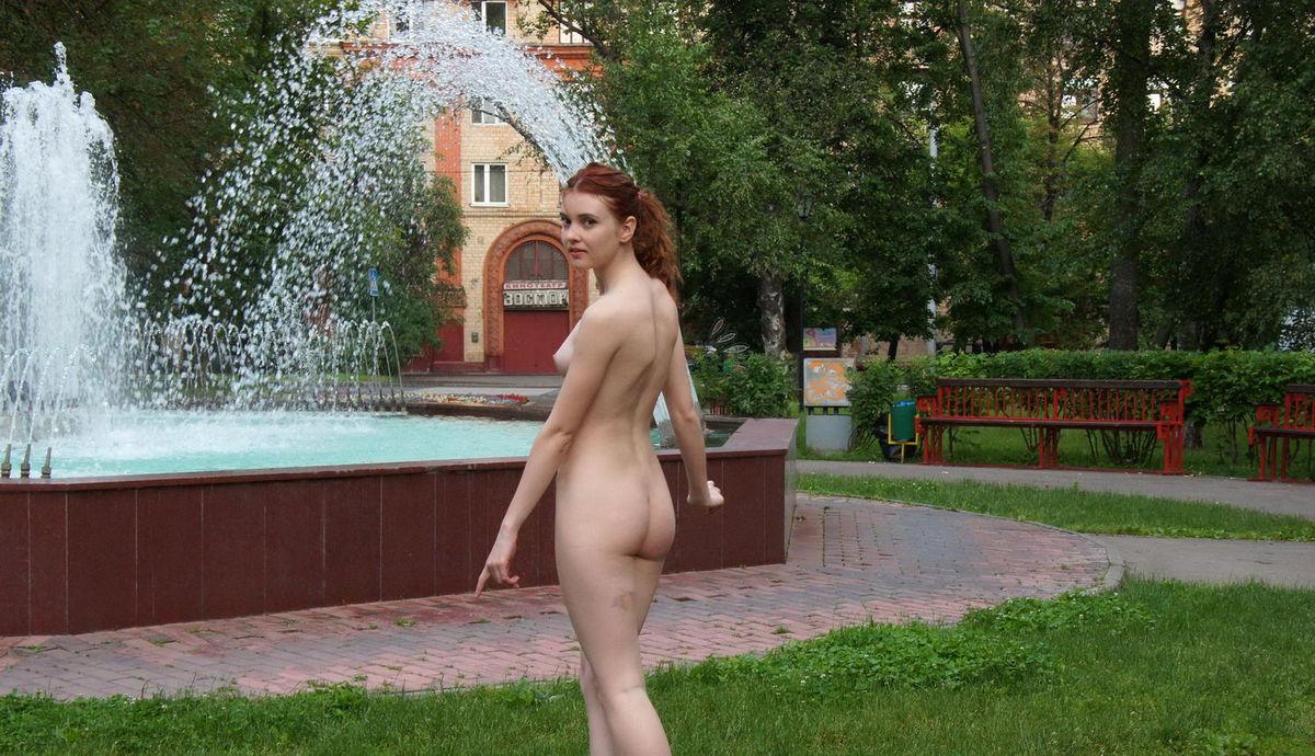 Jasmine Fountain Nude