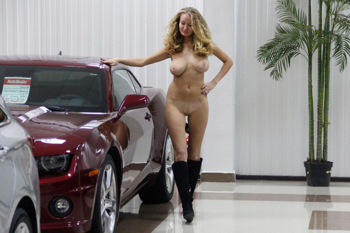 Hot babes hot cars show nude you