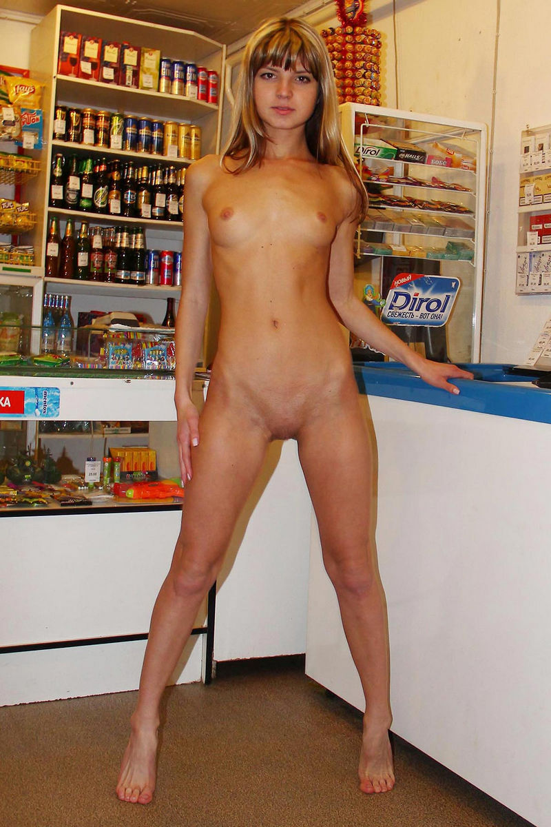 Suggest you Nude girls in a shop share your