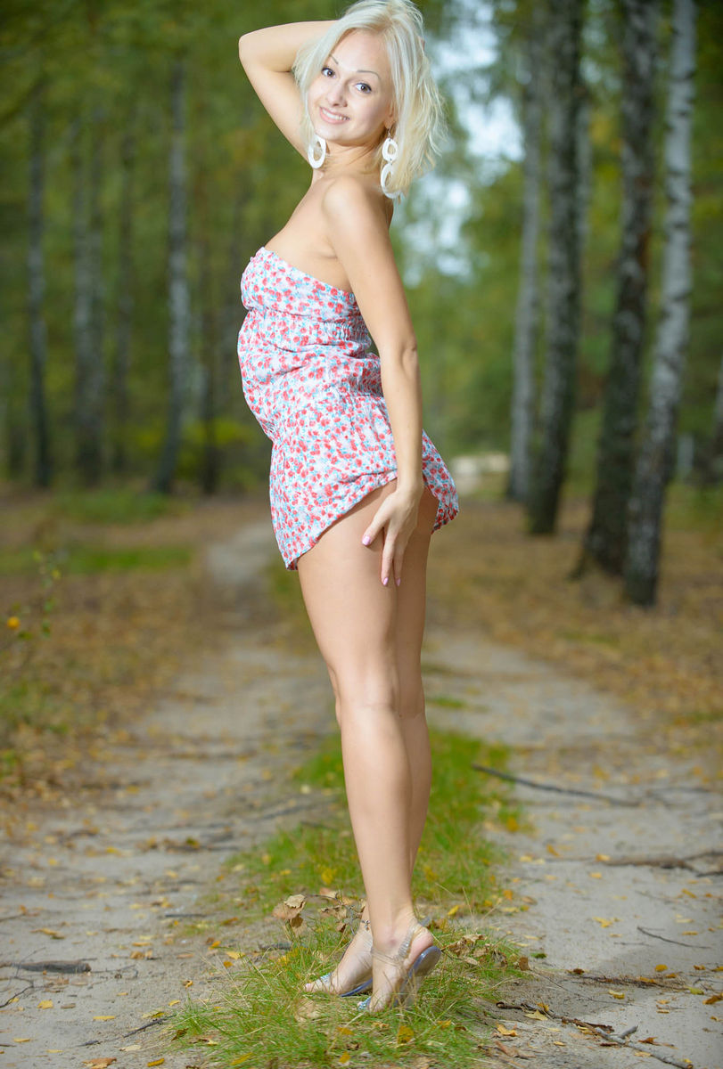 Babes in the forest hungry woman gets food 2