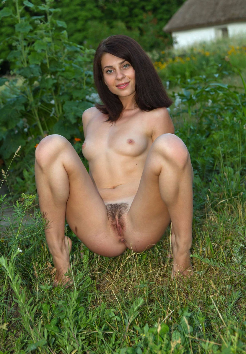Apologise, hairy pussy spread outdoors porn everything