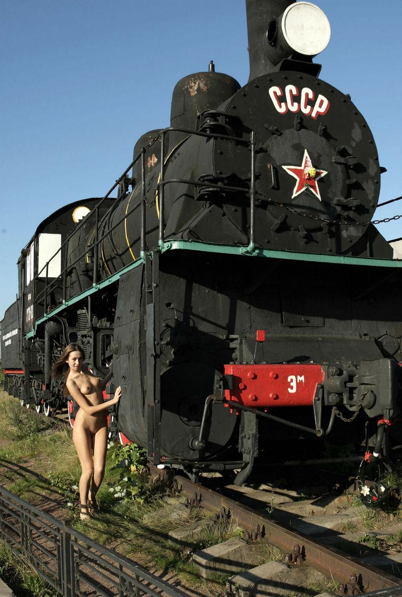 Steam train porn