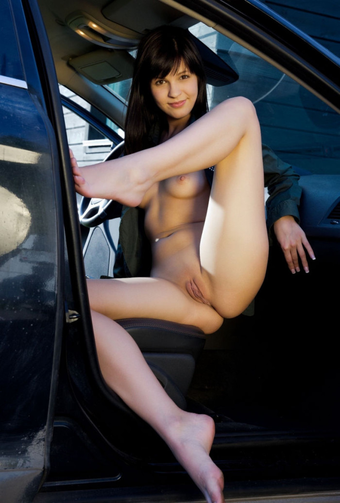 Naked girls car show, finger fuck hard and fast sex gif