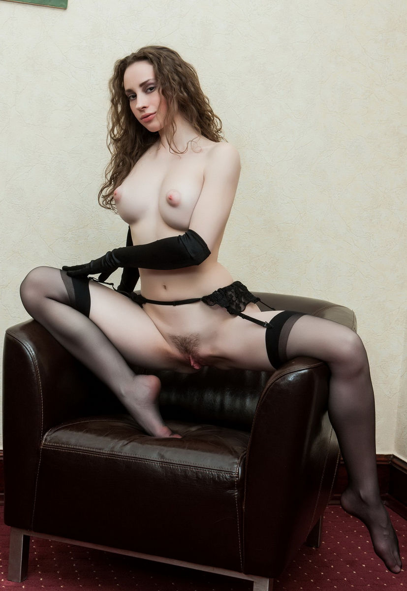 Babe in nylons