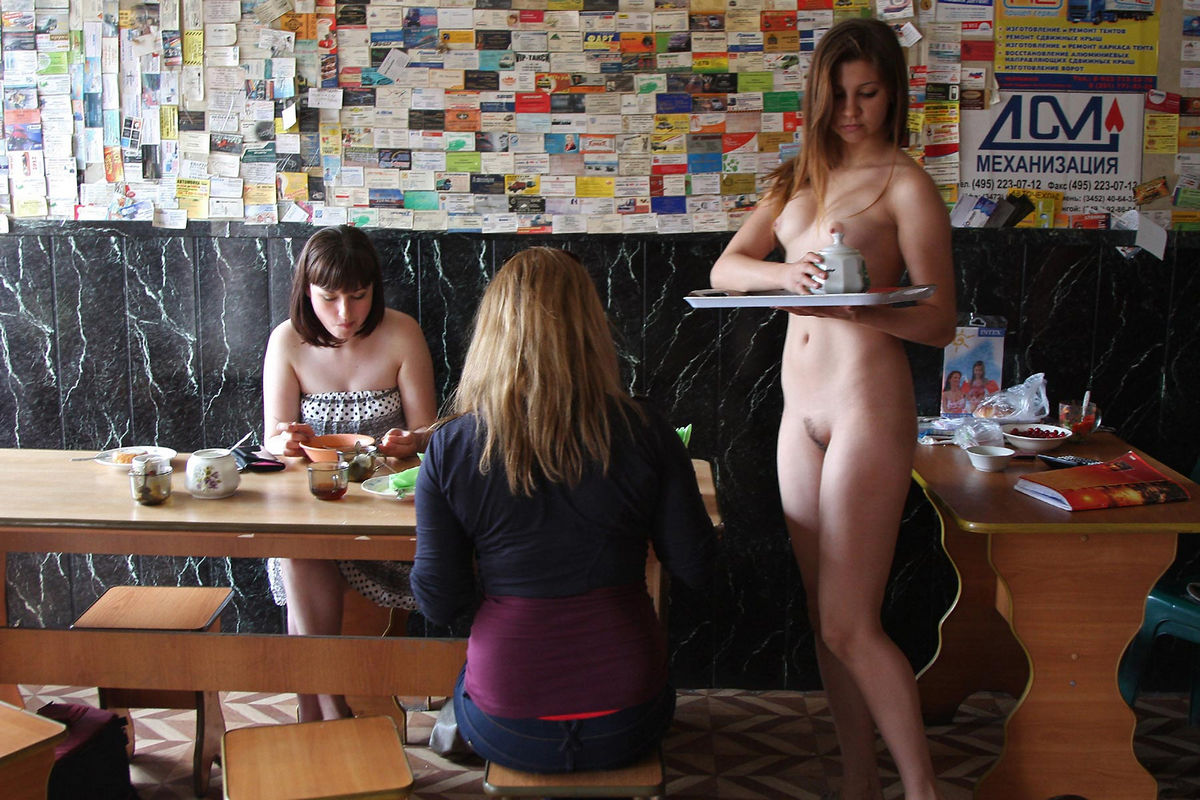 Young Naked Waitress At A Roadside Cafe  Russian Sexy Girls-2991