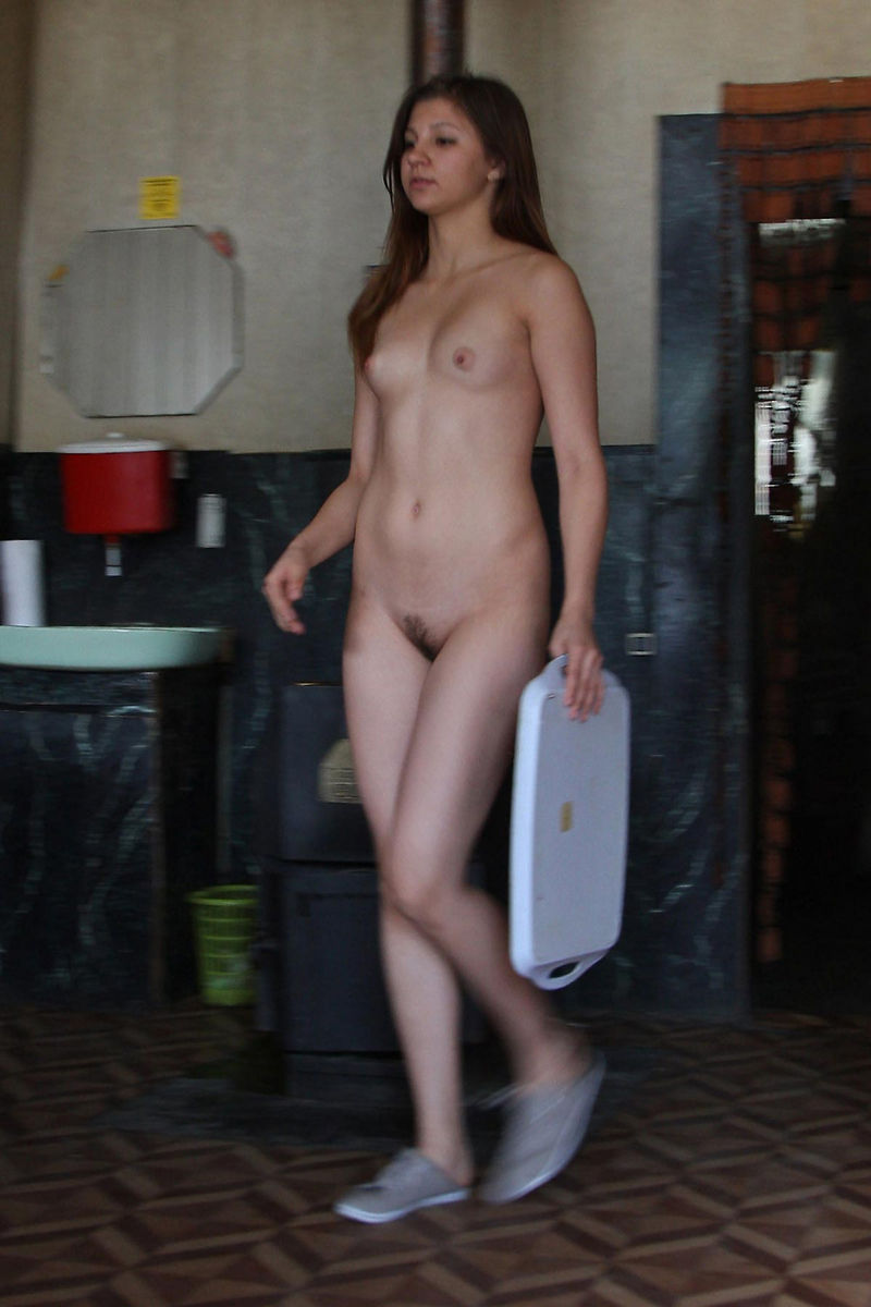 Young Naked Waitress At A Roadside Cafe  Russian Sexy Girls-3065