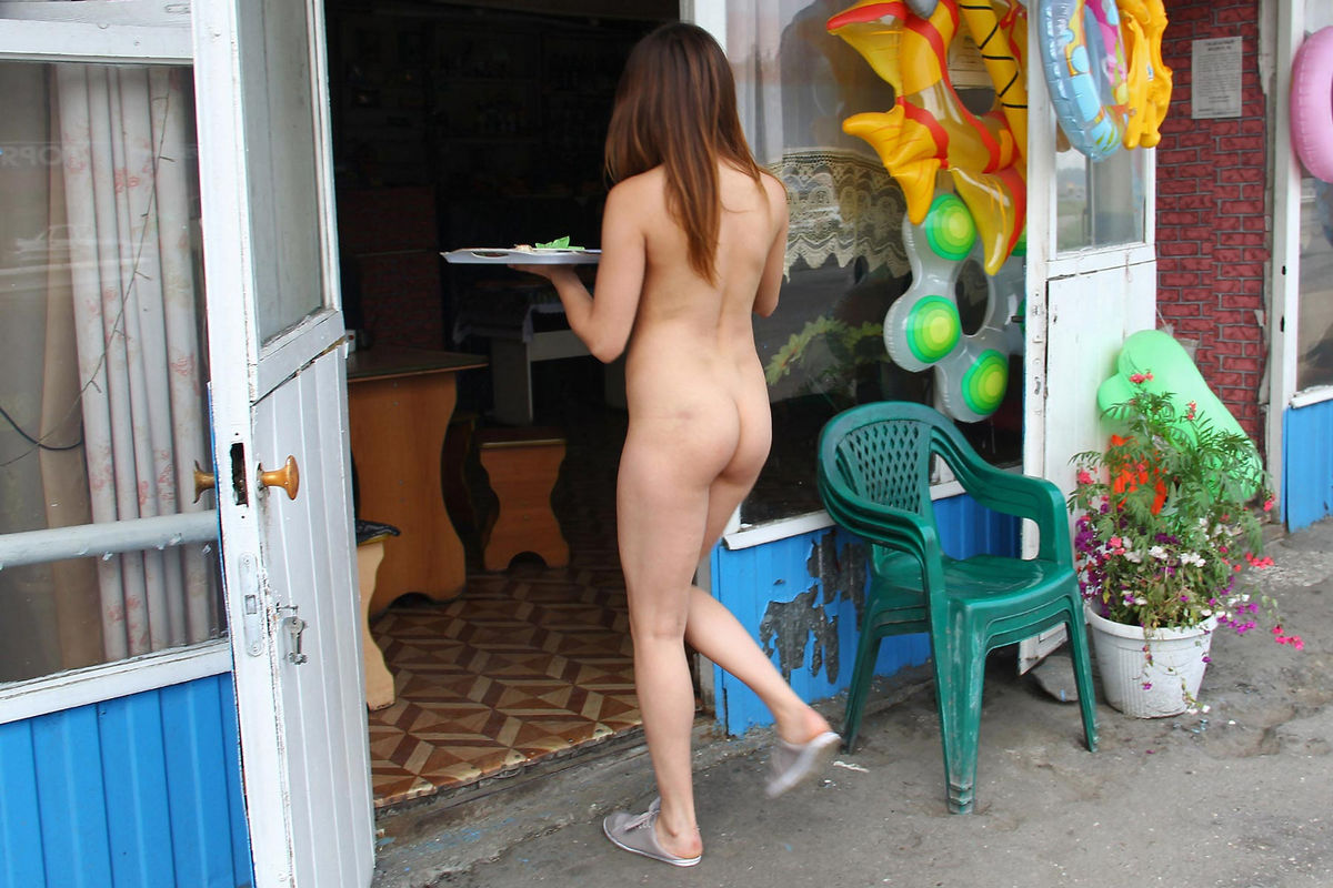 Young Naked Waitress At A Roadside Cafe  Russian Sexy Girls-6051