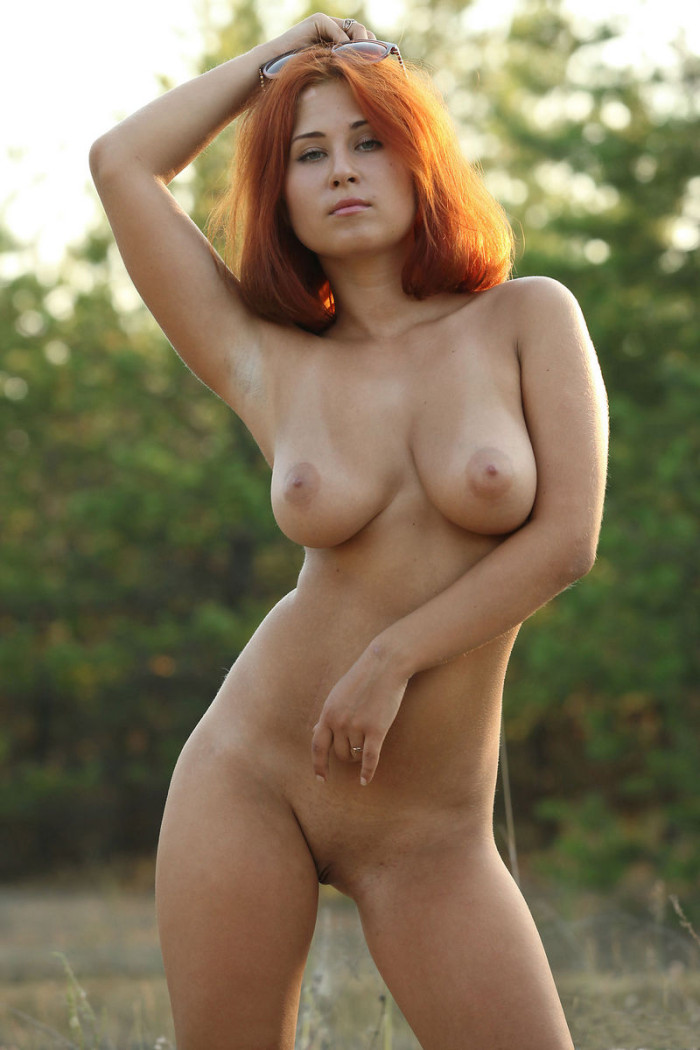Sexy redhead from romania mouthfuck