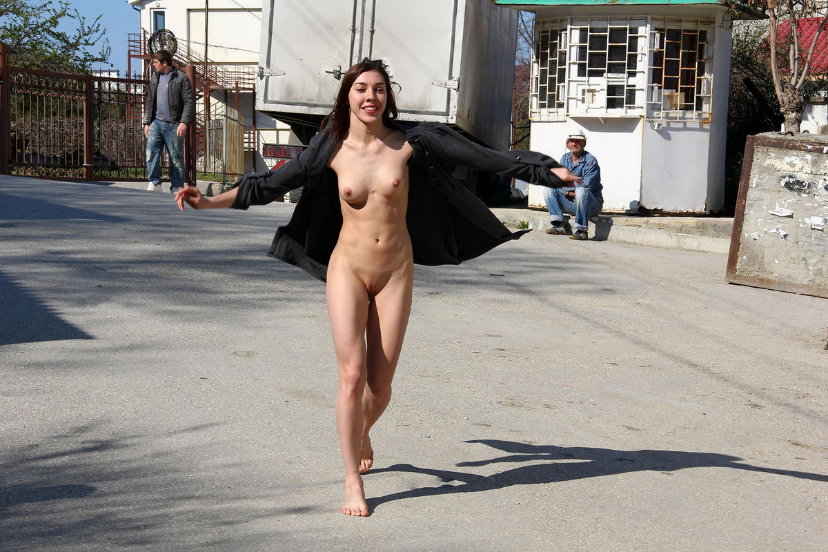 Opinion the Nude chicks on the street