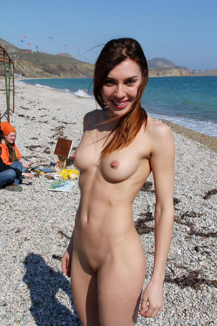 Hot Beach Girl