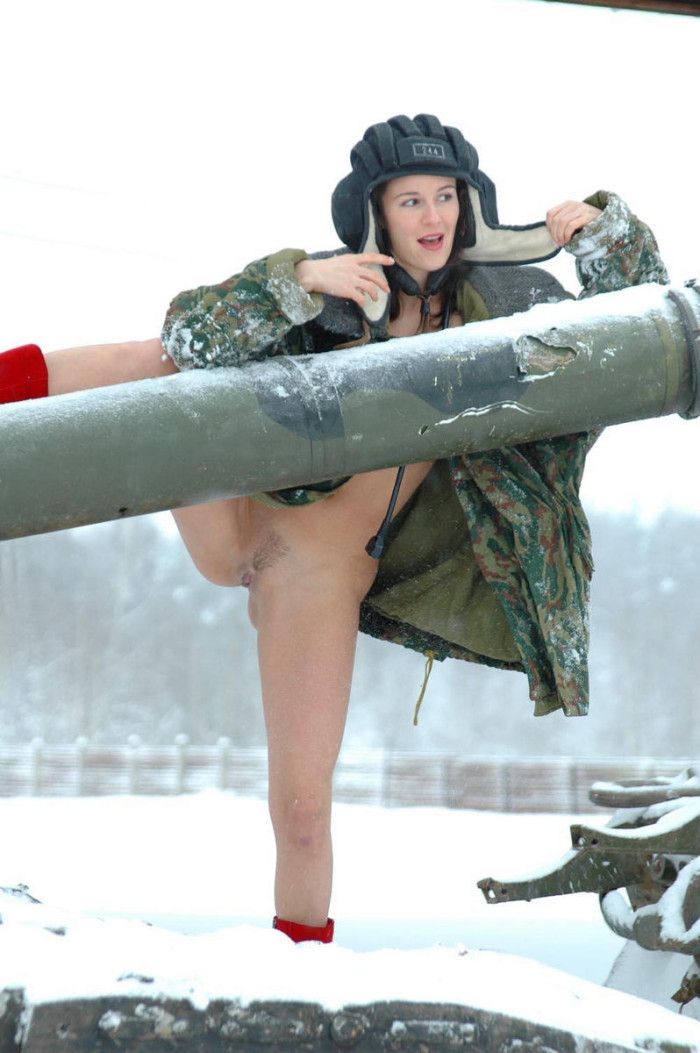 Naked Karina Soldier Nude Photos
