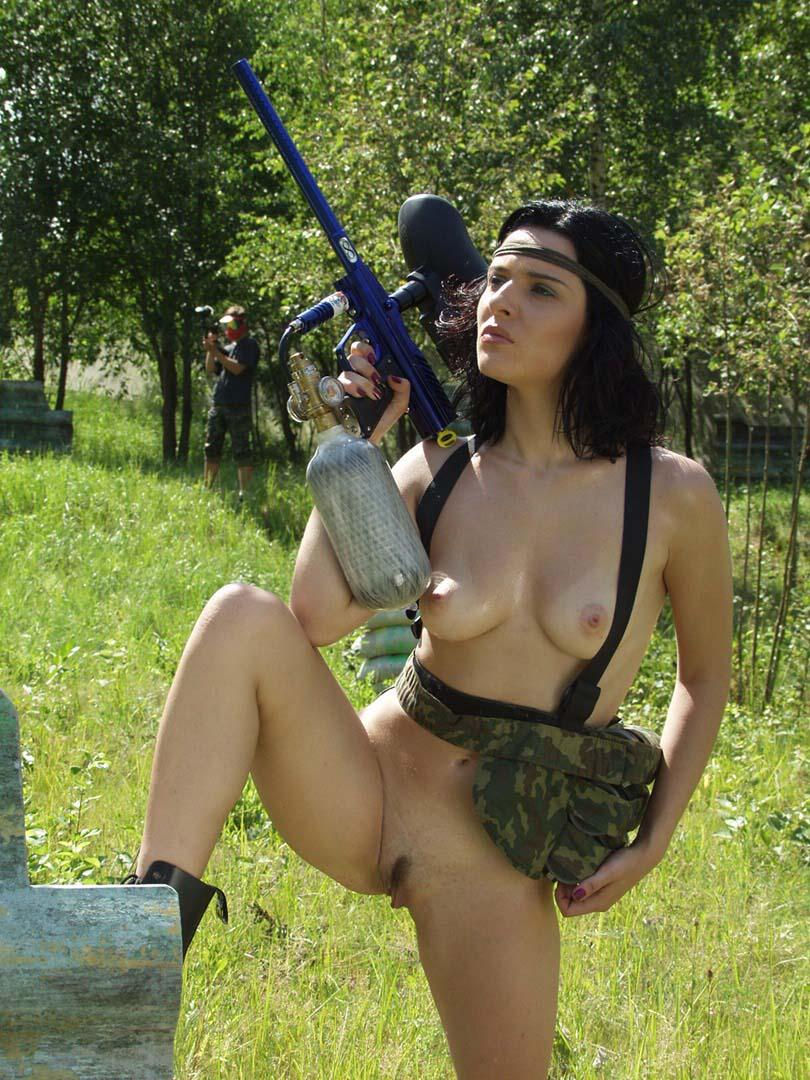 Naked paintball xxx gothic