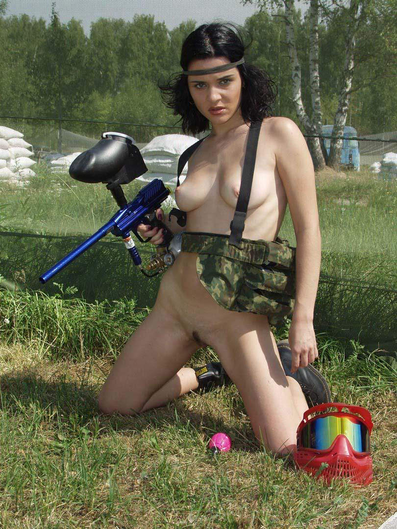 Recommend paintball girls naked in snow
