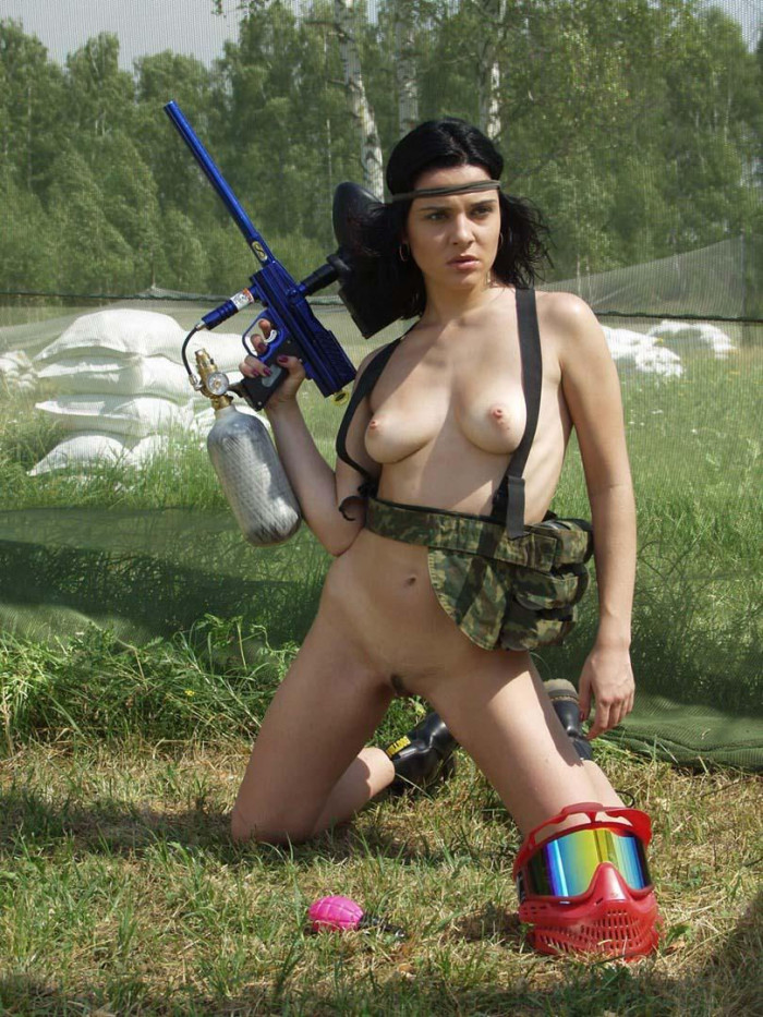 Remarkable, and nude women paintball the amusing