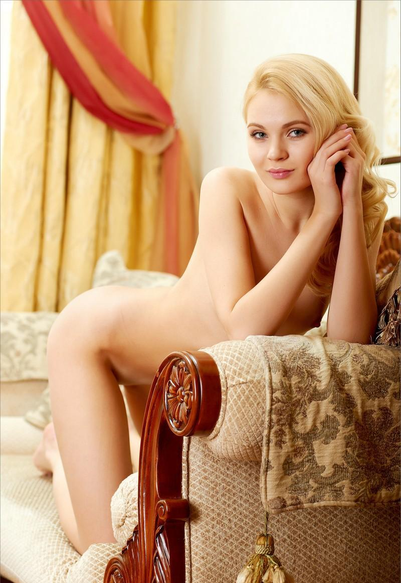 Beautiful Talia With Small Tits On Sofa  Russian Sexy Girls-9392