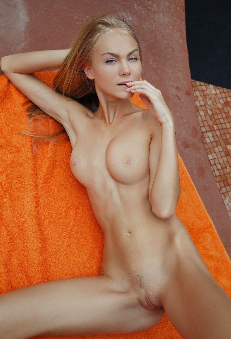 Nude petite redhead girl-8865