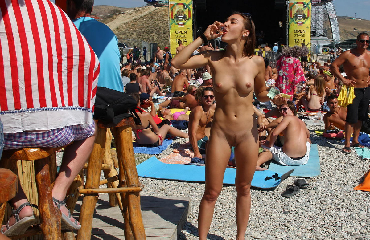 Colonel girls naked in public wonder