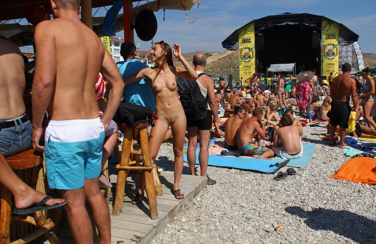 Nudist Neptune Festival 2014 in Crimea on Vimeo