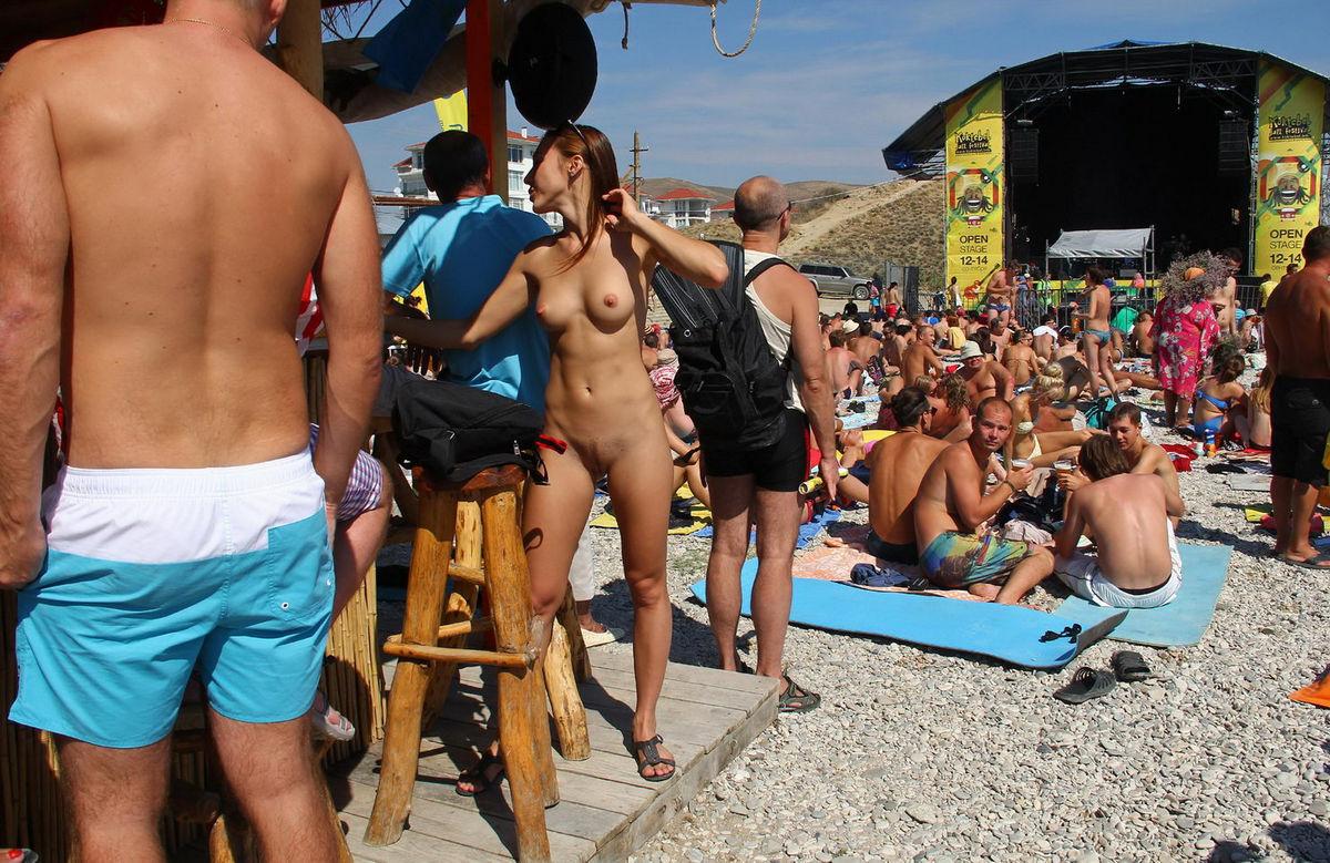 Final, sorry, Hot beach babe nudist
