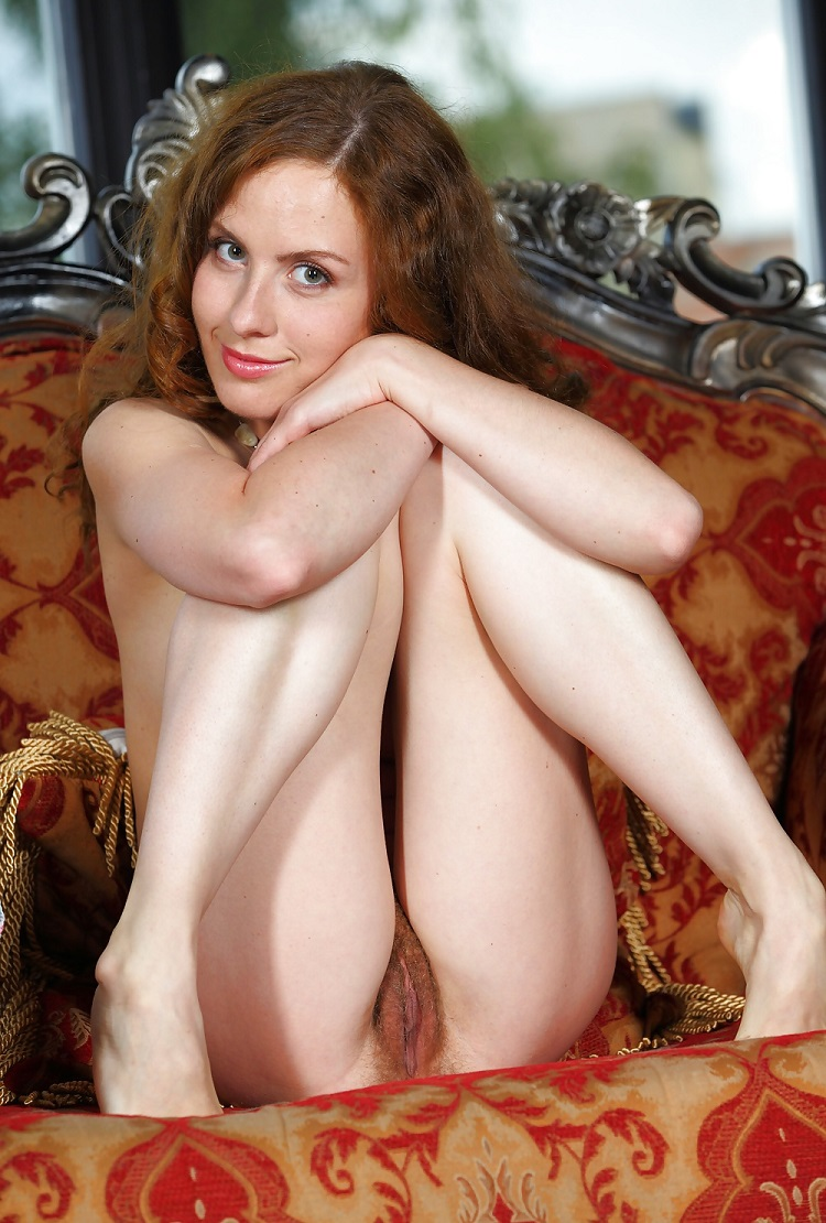 Remarkable, rather Red hairy pussy