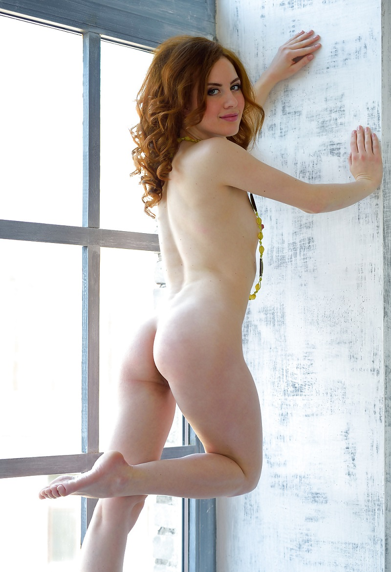 hot eva j shows her not shaved redhead pussy | russian sexy girls