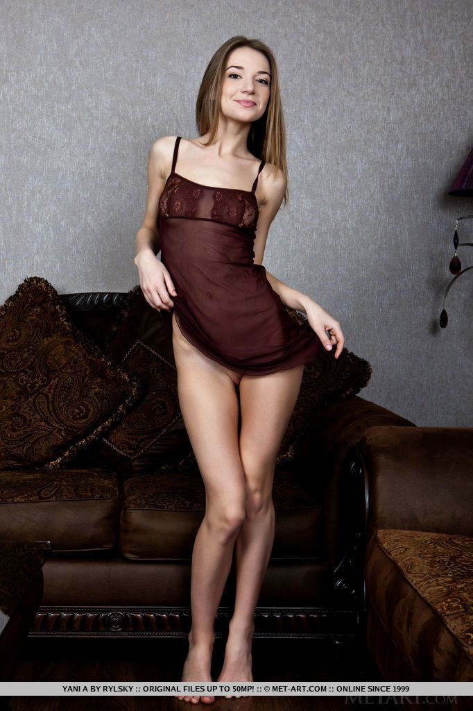 Yani A proves that she's more than the cute Ukranian with the slender body and amateur charm as she shows off her naked body