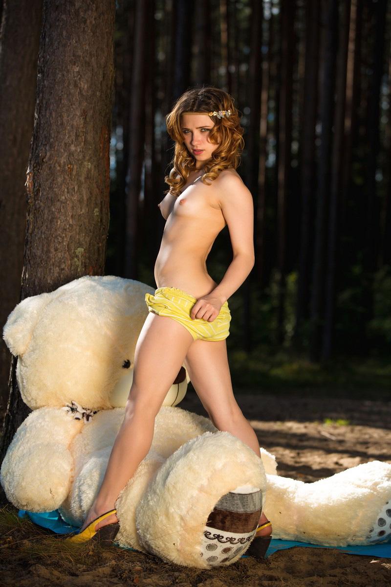 lucky white bear russian sexy girls