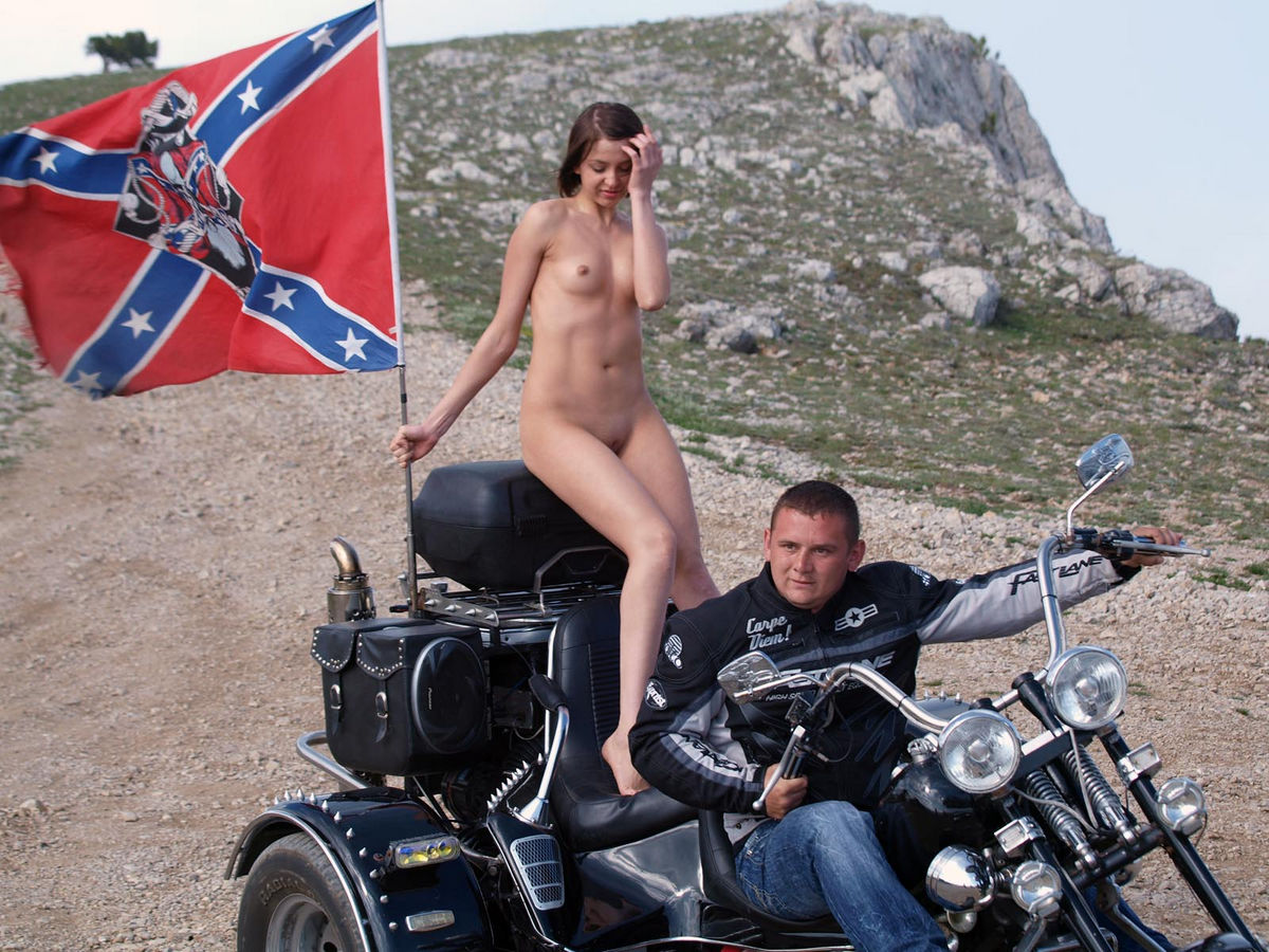 Consider, Nude girl posing on motorcycle authoritative message