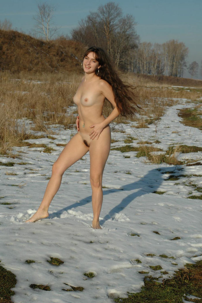 from Flynn sexy russian girl in snow
