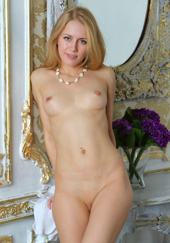 Blonde Tamara F With Very Hard Nipples  Russian Sexy Girls-9164