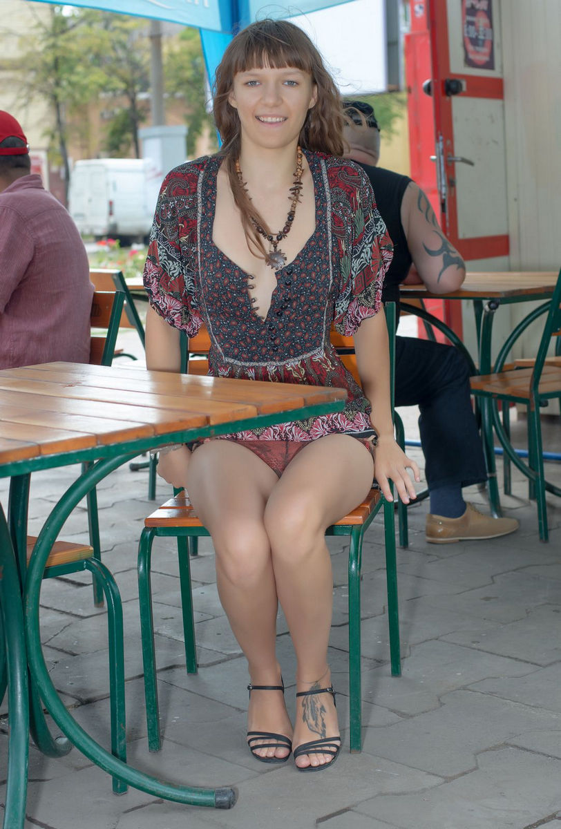 Crazy Teen Girl Loves To Flash At Public Places  Russian -1450