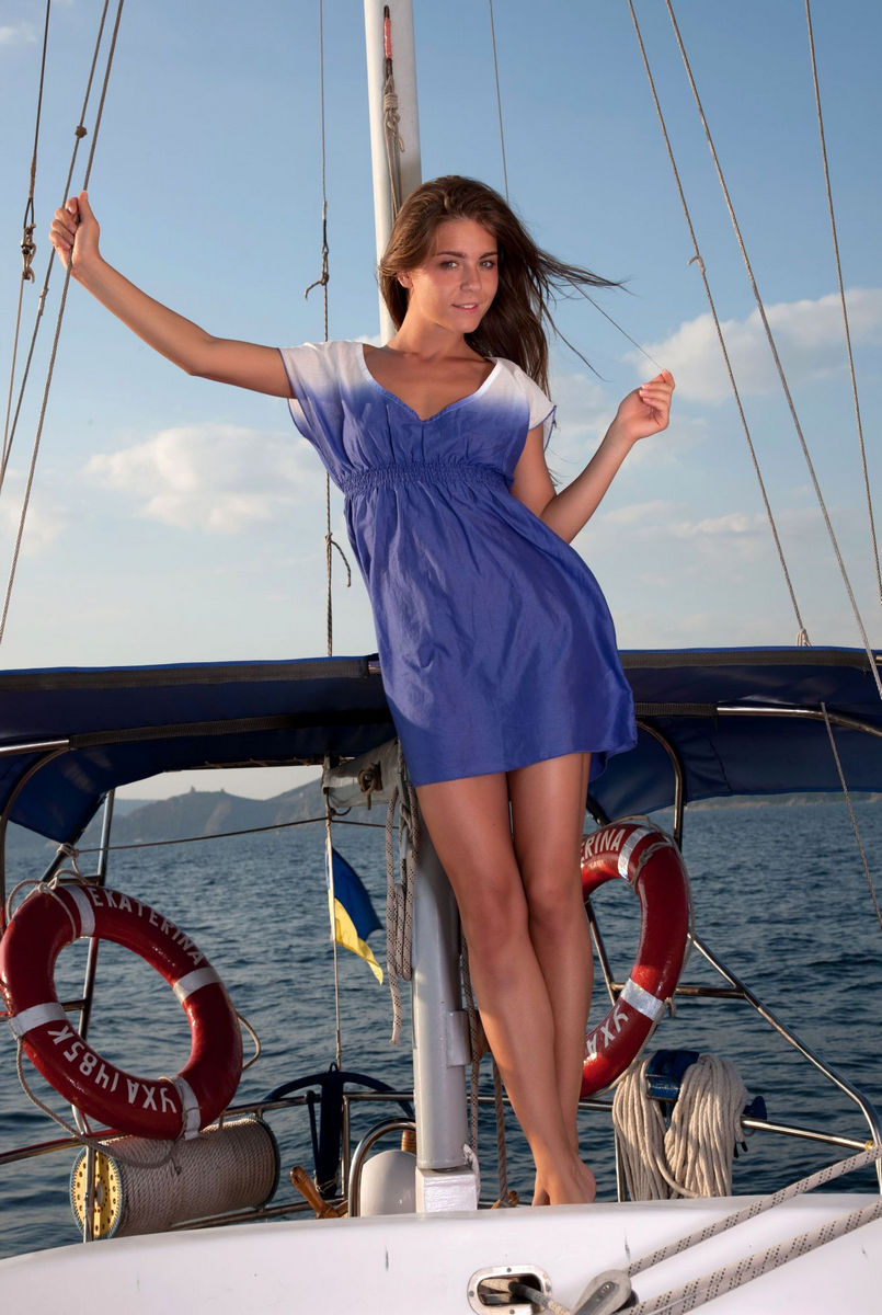 Well nude hot babes on sailboats for