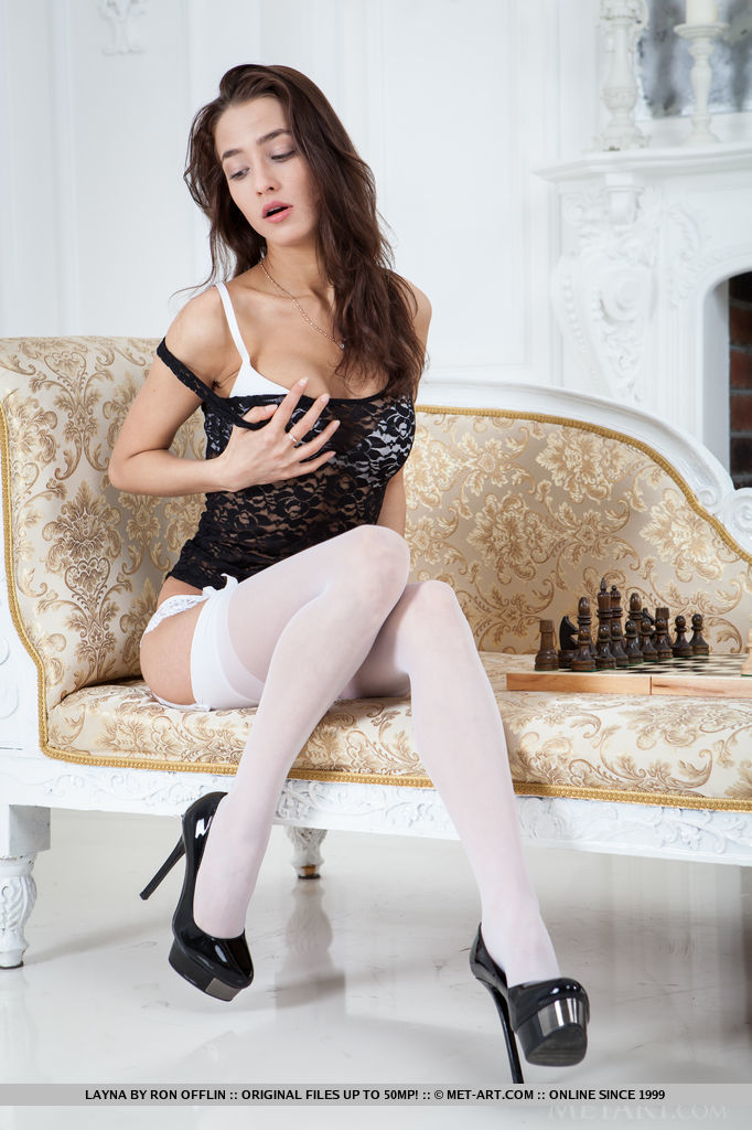 Actress models having stockings sex