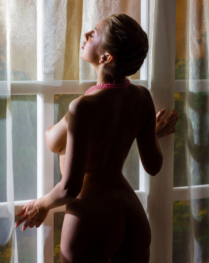 Russian girl Millis A has really perfect natural boobs