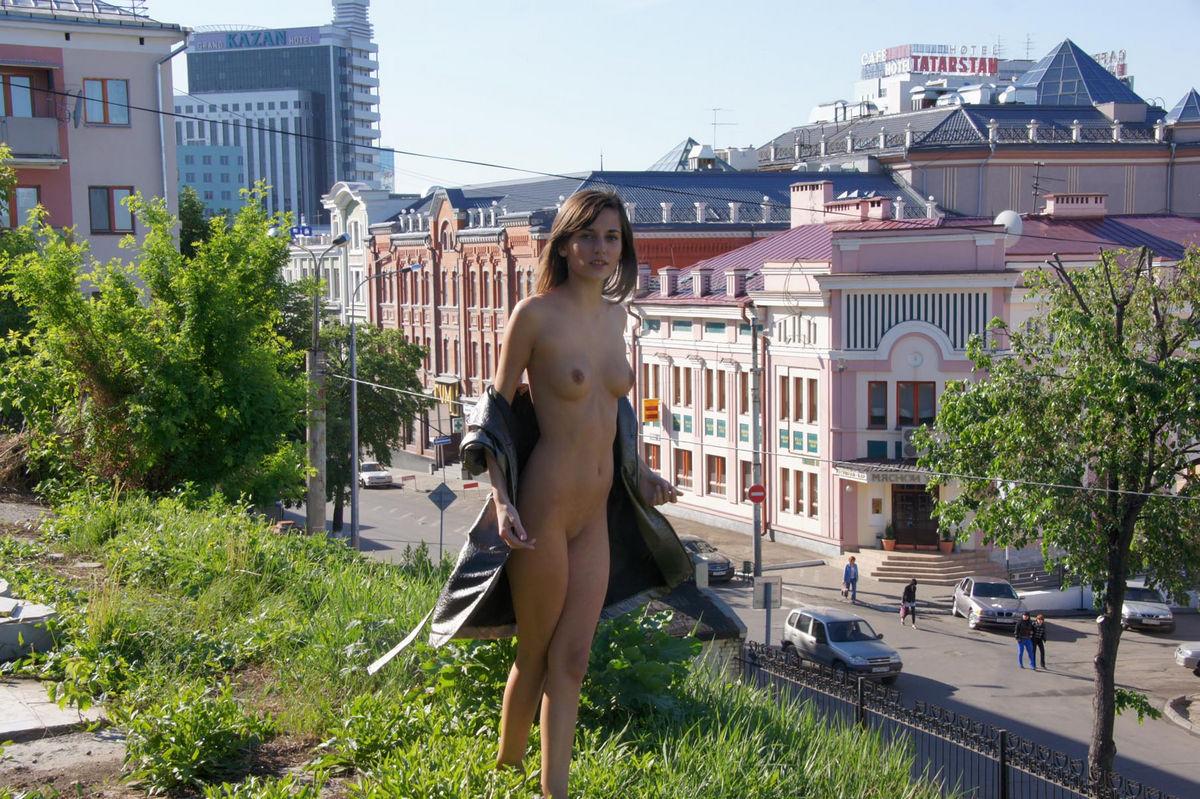 Nude women fly fishing-9645
