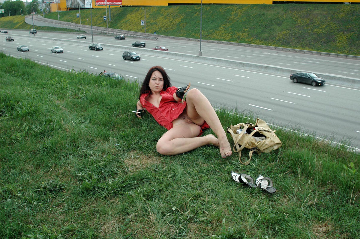 Brunette fucks herself in front of the camera 2 8