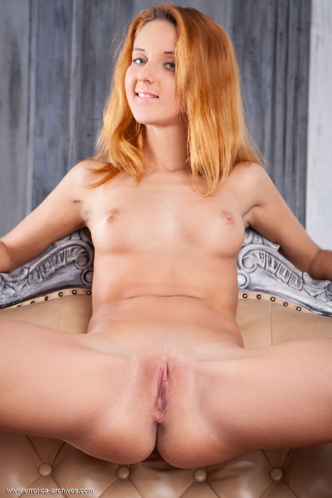 Roberta Berti shows off her gorgeous body and sweet pussy on the chair.