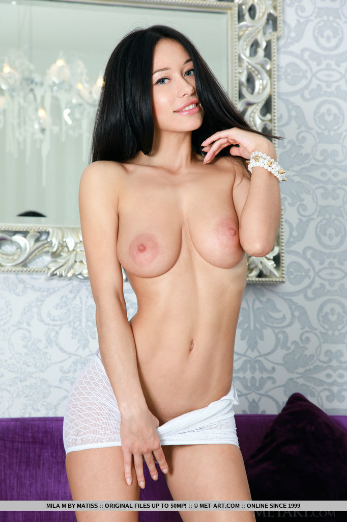 Mila M captures our attention with her marvelously stunning body and   powerful allure.