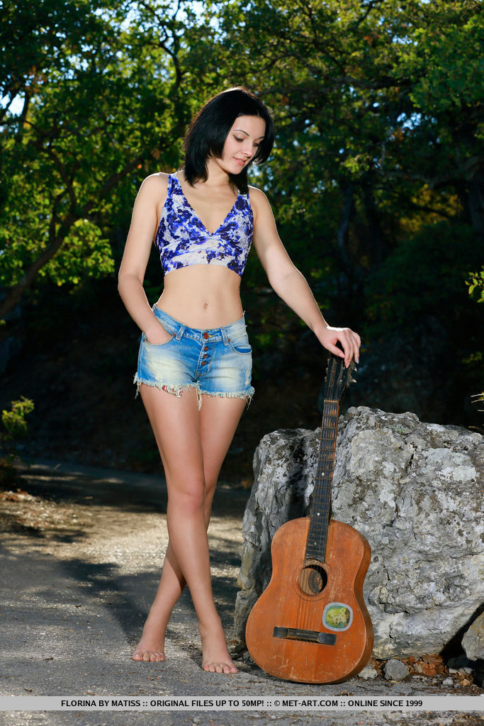 Florina is blue-eyed cutie with a sweet, charming smile and petite but well-toned body
