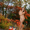 New model Emmy flaunts her amazing physique and delectable assets outdoors.
