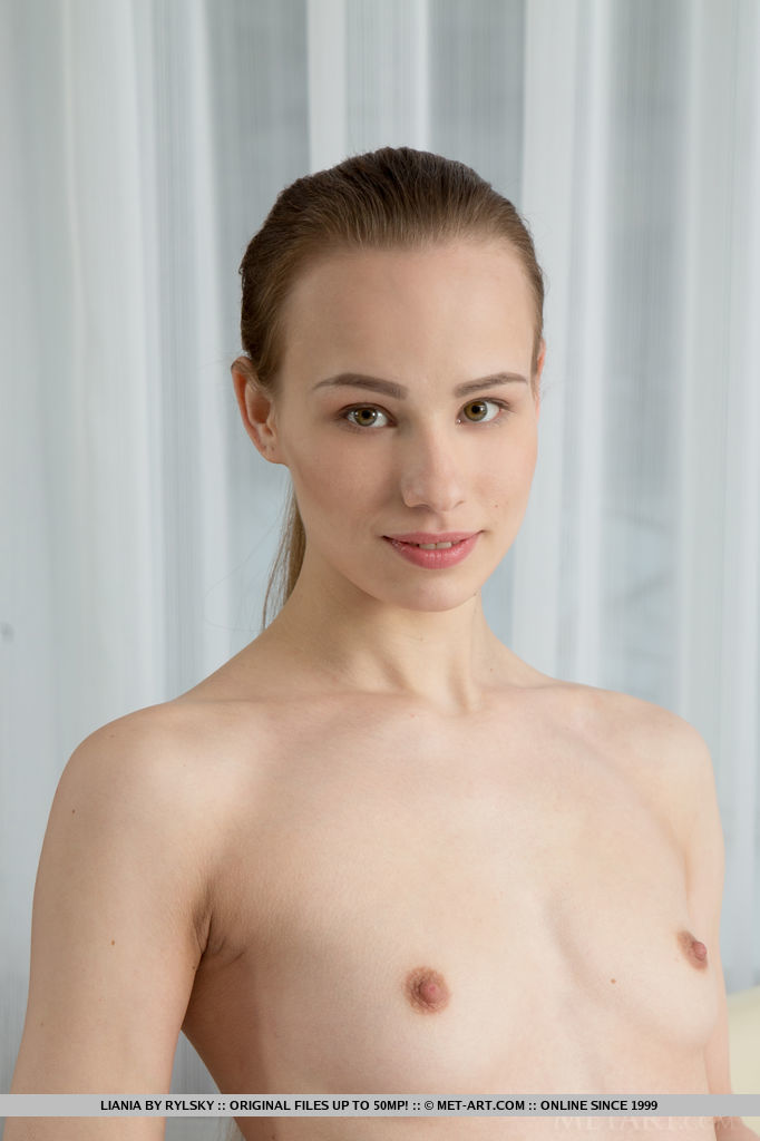 Liania is like an angel on Earth, with her creamy white skin, pink, supple breasts, slender body with elegantly sweeping curves, and angelic face