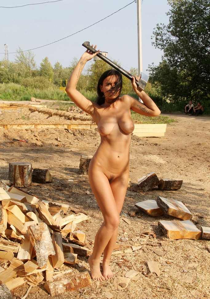 Nude female construction workers pics