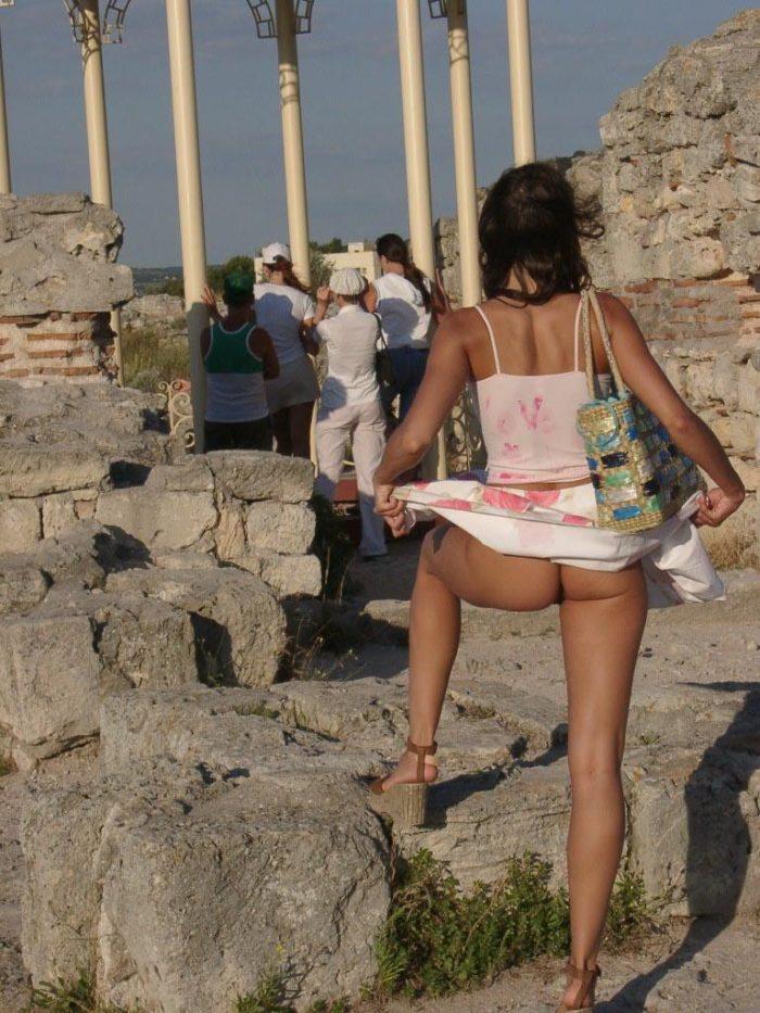 Hot nude turist teen Sara! wanna