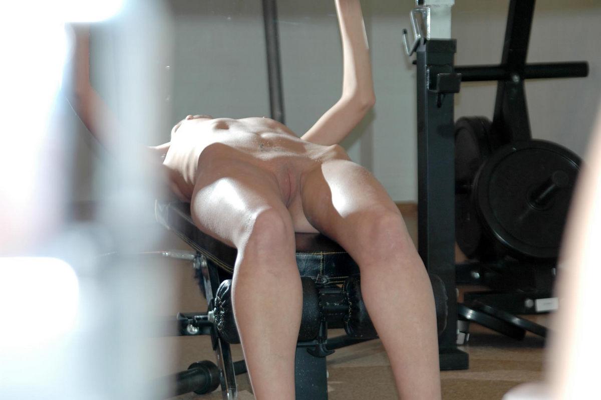 masturbate in gym
