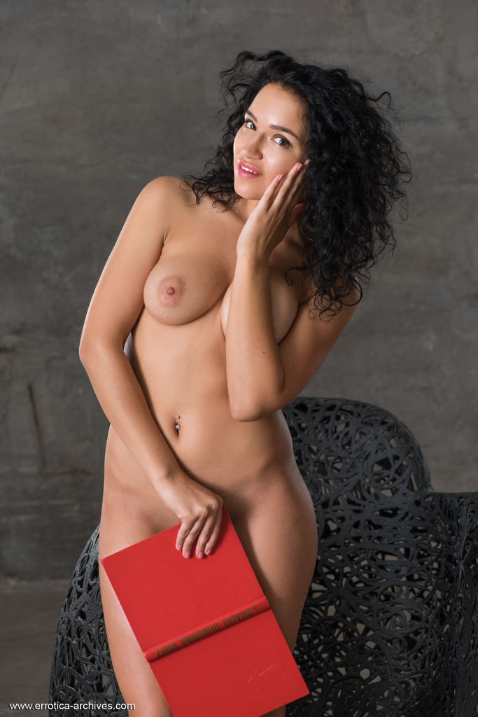 Yulianna shows off her luscious body and sweet breasts in front of the camera.