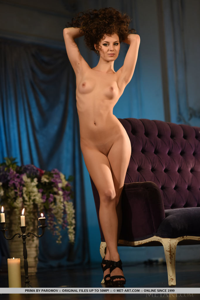 Prima makes a grand debut as she evoke a super seductive vixen, oozing with irresistible sex appeal who can fulfill even your wildest fantasies.
