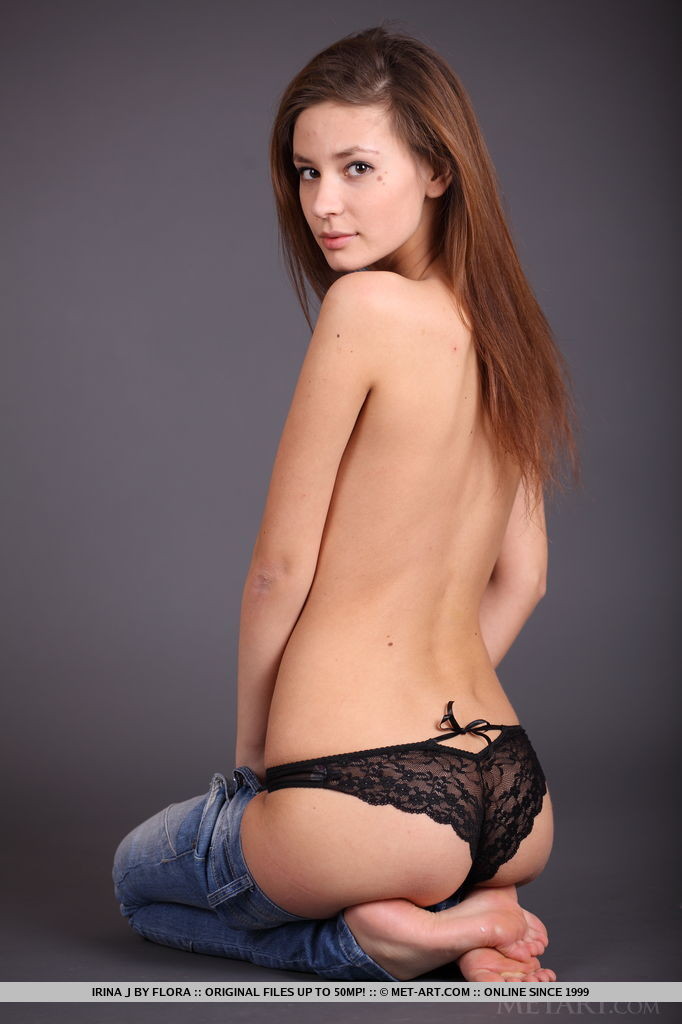 Whether clothed in denim jacket and jeans or fully naked, Irina J is looks absolutely spectacular. Her elegance and confidence while posing naked in front of the camera is breathtaking.