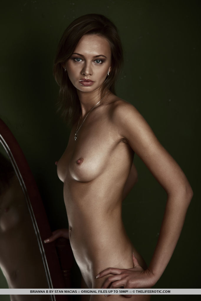 Brianna B shows off her beautiful slender body with perfectly bronzed complexion.